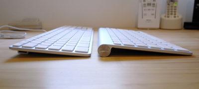 Apple Keyboard 比較