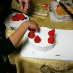 クリスマスにケーキを作ってみた
