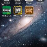 車の走行距離を記録するiPhoneアプリ