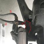 ロードスターのパーキングブレーキが切れない